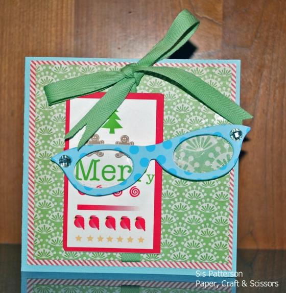 Christmas Eye Chart and Glasses