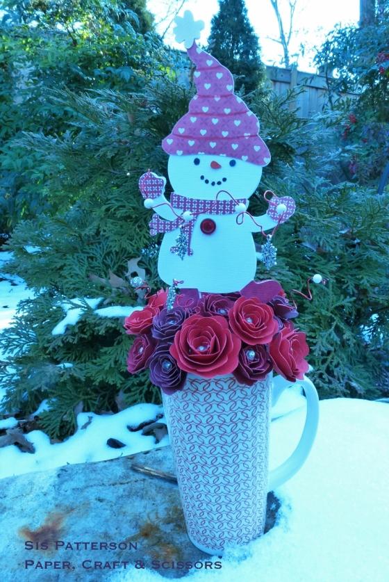 Cricut Valentine Bouquet