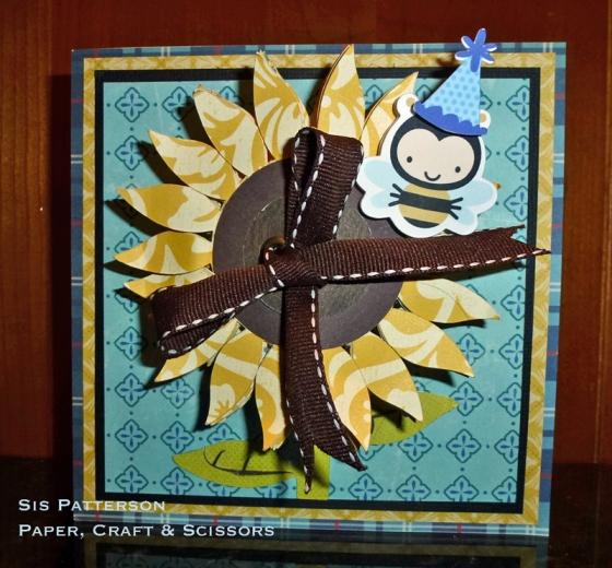 Sunflower-Card