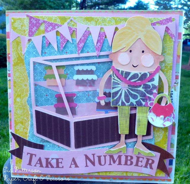Take A Number Birthday Card Silhouette Cameo Project Paper